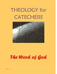 The Word of God - Archdiocese of St Andrews and Edinburgh