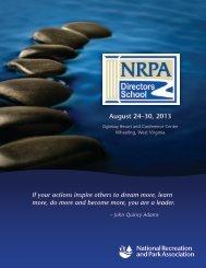 Brochure - National Recreation and Park Association