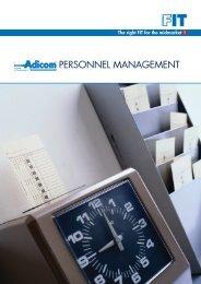 Adicom Personnel Management