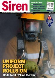 Winter 2007 - Fire Brigades Union