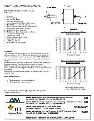 Aqua 4 Gen Owners Manual.pdf - Fuji Yachts Website