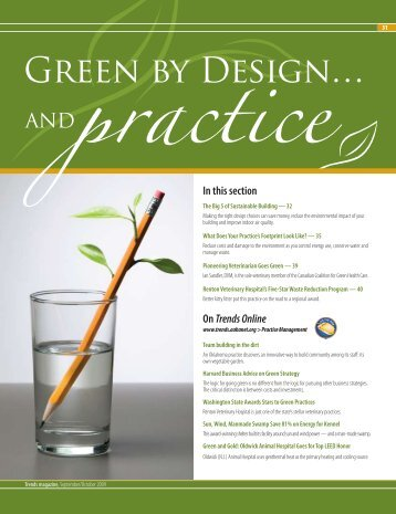 Green By Design… And Practice - American Animal Hospital ...