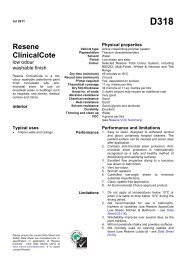 d318 - Resene ClinicalCote paint finish for broadwall areas in ...