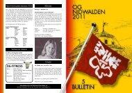 Bulletin 05 / 11