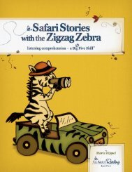 Safari Stories with the Zigzag Zebra - About Learning Press