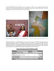 site visit dec 2006 - Asha for Education