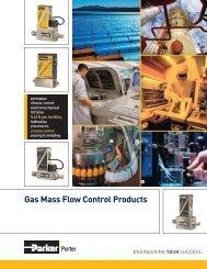 PORTER Gas Mass Flow Control - regula servis