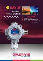 DAX 3F - Dalemans Gas Detection