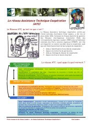 Le réseau Assistance Technique Coopération (ATC) - Réseau Leader