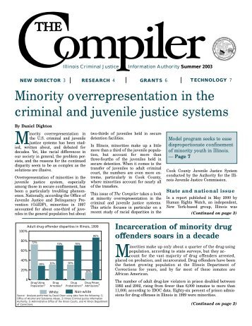 Minority overrepresentation in the criminal and juvenile justice systems