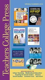 Download - Teachers College Press