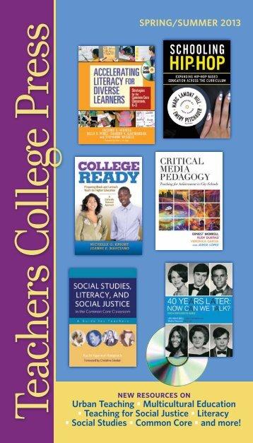 Download - Teachers College Press