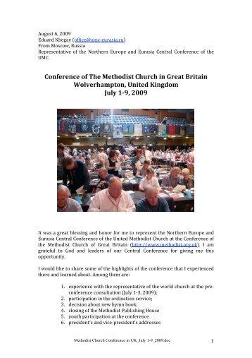 report - The Methodist Church of Great Britain