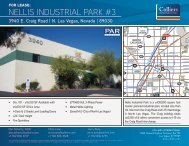 NELLIS INDUSTRIAL PARK #3 - Colliers International