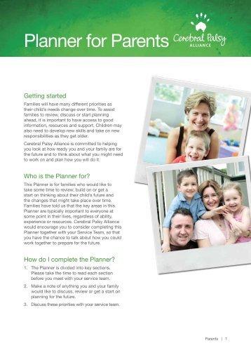 Download the PDF - Cerebral Palsy Alliance