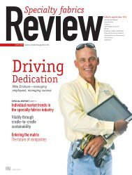 Review, June 2008, Digital Edition - Specialty Fabrics Review