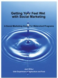Getting Your Feet Wet with Social Marketing - Utah Department of ...