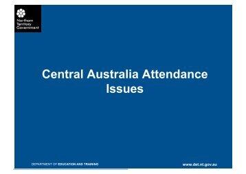 Attendance, NT