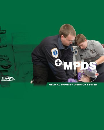 medical priority dispatch system - Priority Dispatch Corporation