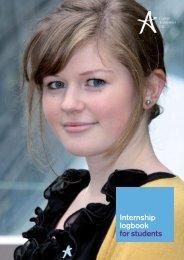 Internship Student Logbook - National Academy Foundation