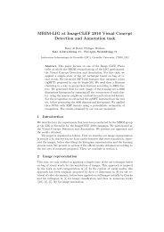 MRIM-LIG at ImageCLEF 2010 Visual Concept Detection and ...