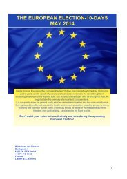 the european election-10-days may 2014 - Cultuur, Jeugd, Sport en ...
