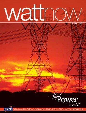 The issue - Watt Now Magazine