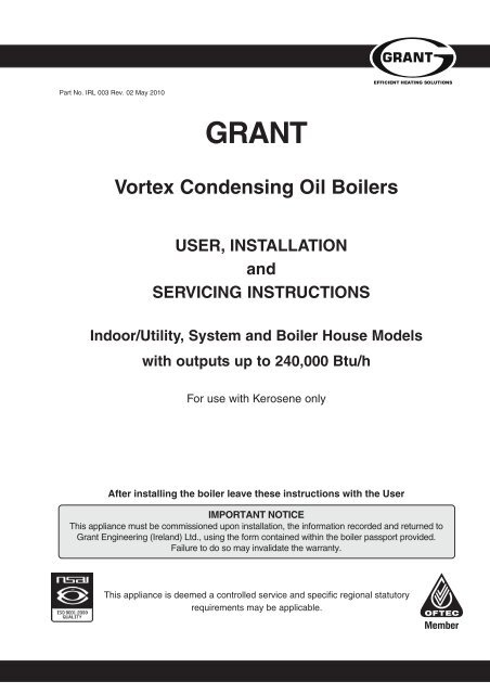 Grant Oil Boiler Wiring Diagram