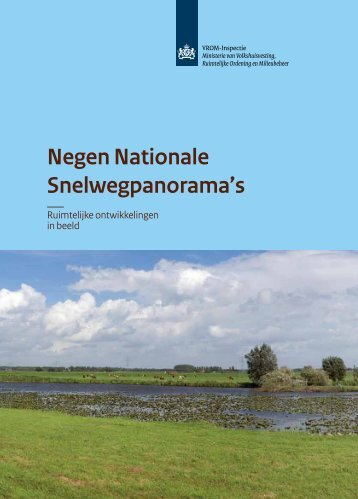 Negen Nationale Snelweg panorama's