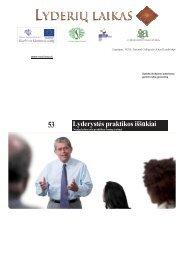 Lyderystės praktikos iššūkiai.pdf - Lyderių laikas