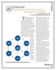 Filling a Gap in Aluminium Industry Information..