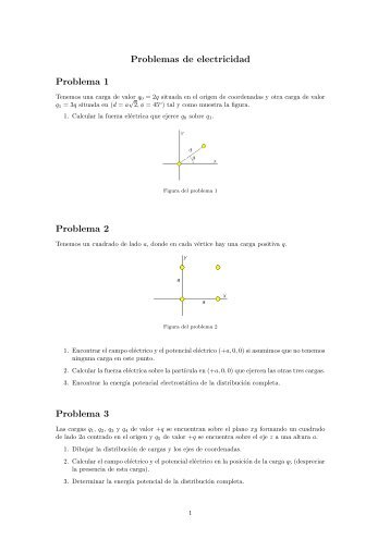 Problemas de electricidad Problema 1 Problema 2 Problema 3 - DTIC