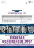 SEKRETÆR KONFERENCEN 2007 - MBCE - Page 6