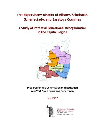 The Supervisory District of Albany, Schoharie, Schenectady, and ...