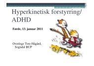 Foredrag Tore Hågård - Helse Førde