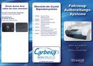 Fahrzeug- Aufbereitungs- Systeme