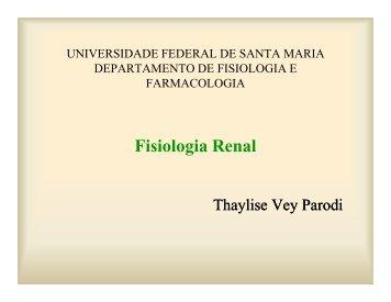Fisiologia Renal - UFSM