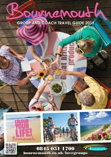 Group and coach travel Guide 2013 - Bournemouth