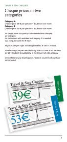 Travel & Stay Cheque - Page 5