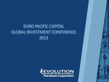 Corporate Presentation - Evolution Petroleum Corporation