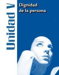 Dignidad de la persona
