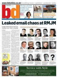 Leaked email chaos at RMJM - PageSuite