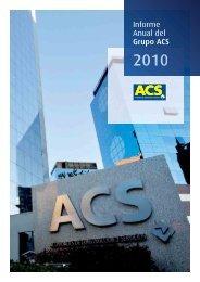 Informe de Responsabilidad Corporativa - Grupo ACS