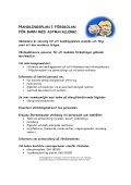 Handlingsplan i förskolan för barn med astma eller allergi - Sundsvall - Page 2