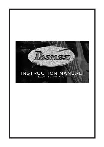 100 free Magazines from IBANEZ.CO.JP