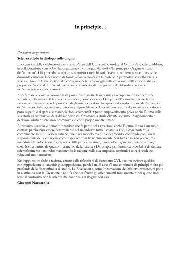 versione pdf della scheda - Progetto Culturale