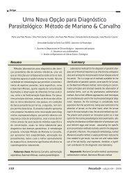 Uma Nova Opção para Diagnóstico Parasitológico ... - NewsLab