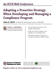 adopting a Proactive Strategy When Developing and managing a ...