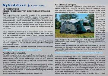 5-11-2012 - Campisternes Rejseportal