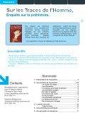 dossier présentation Sur les Traces de l'Homme.indd - Cap Sciences - Page 2